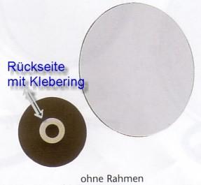 Klebespiegel mit Vergrösserung zum Kleben by Bavaria Bäder-Technik GdbR