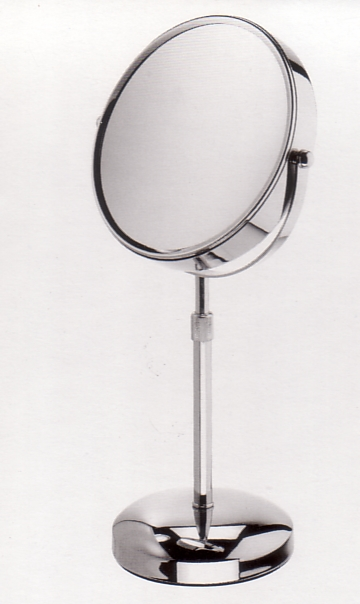 Kosmetikspiegel mit 7-fach Vergrösserung vorne und 3-fach auf der Spiegelrückseite by Bavaria Bäder-Technik GdbR
