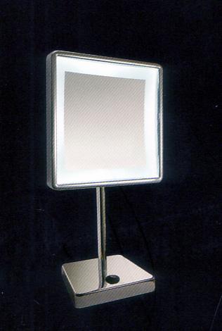 Kosmetikspiegel zum Stellen mit LED beleuchtet by Bavaria Bäder-Technik GdbR