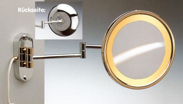Kosmetikspiegel mit Licht by Bavaria Bäder-Technik GdbR