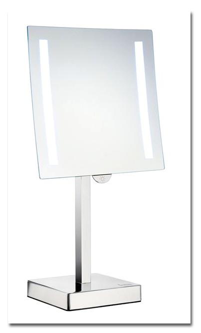 Schminkspiegel als Tischspiegel und beleuchtet mit LED by Bavaria Bäder-Technik GdbR