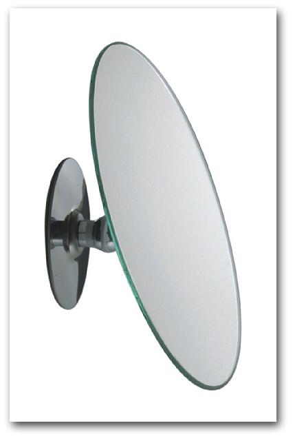 Klebespiegel mit Vergrösserung - individuell einstellbarer Kosmetikspiegel zum Kleben mit Kugelgelenk by Bavaria Bäder-Technik GdbR