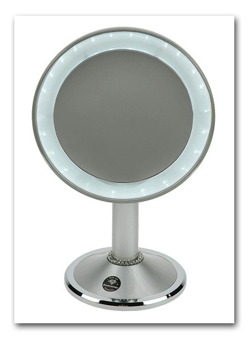 kosmetikspiegel mit beleuchtung 10 fach