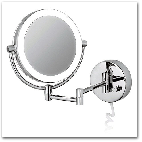 Beliebt Kosmetikspiegel Rasierspiegel Schminkspiegel beleuchtet UD82