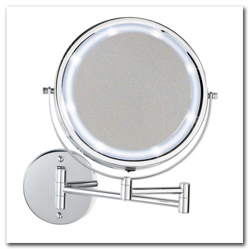 Kosmetikspiegel beleuchtet zum Betrieb mit Batterie
