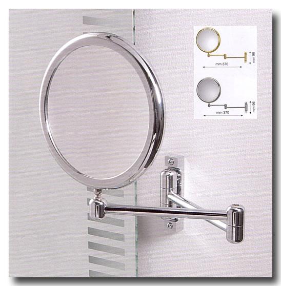 Kosmetikspiegel wie Schminkspiegel und Rasierspiegel als Wandspiegel by Bavaria Bäder-Technik GdbR