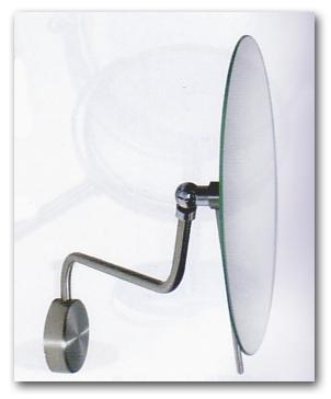 Kosmetikspiegel und Schminkspiegel mit 5-fach Vergrösserung by Bavaria Bäder-Technik GdbR