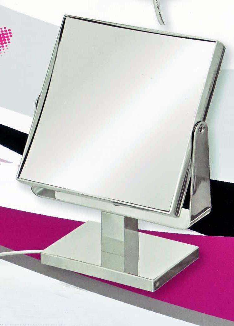 Kosmetikspiegel als Standspiegel mit 5-fach Vergrösserung by Bavaria Bäder-Technik GdbR