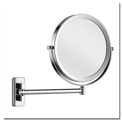 Kosmetikspiegel zur Wandmontage mit Vergrösserungsspiegel by Bavaria Bäder-Technik GdbR