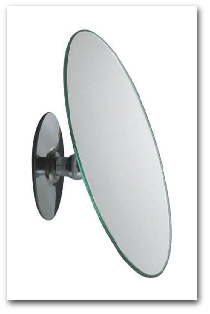 Kosmetikspiegel als klebespiegel schminkspiegel zum kleben for Spiegel zum aufkleben