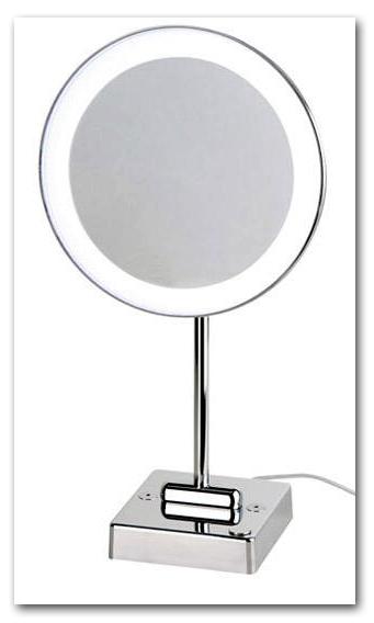 Kosmetikspiegel rasierspiegel schminkspiegel beleuchtet standspiegel - Schminkspiegel mit beleuchtung ...