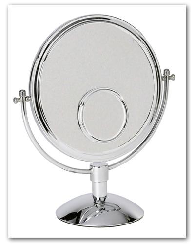 Kosmetikspiegel und Schminkspiegel als Standspiegel by Bavaria Bäder-Technik GdbR