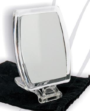 Standspiegel Kosmetikspiegel mit 10-fach Vergrösserung als Reisespiegel by Bavaria Bäder-Technik GdbR