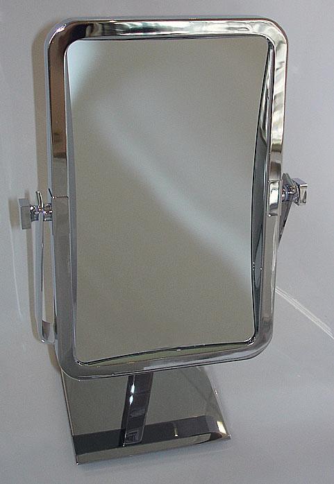 Kosmetikspiegel rechteckig als Standspiegel by Bavaria Bäder-Technik GdbR